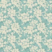 Little Flowers Seamless Vector Pattern