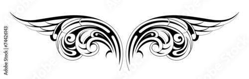 Fényképezés  Wings tattoo