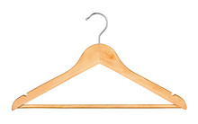 Wooden Hanger For Clothes Isol...