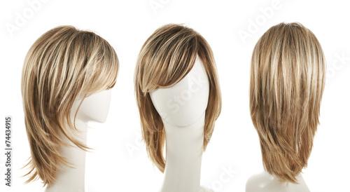 Fotografie, Obraz Hair wig over the mannequin head