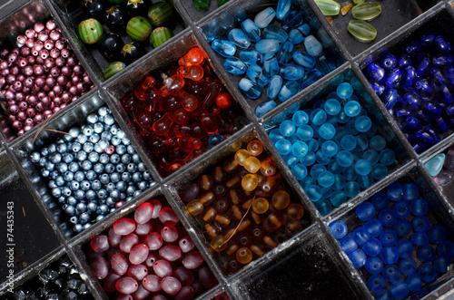beads Wallpaper Mural