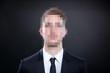 canvas print picture - Anonymer Geschäftsmann
