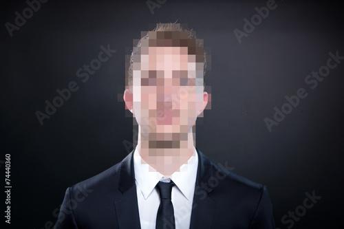 Fotografía  Anonymer Geschäftsmann
