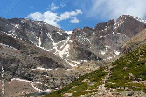 Poster de jardin Parc Naturel Rocky Mountains trail, United States natural landmark
