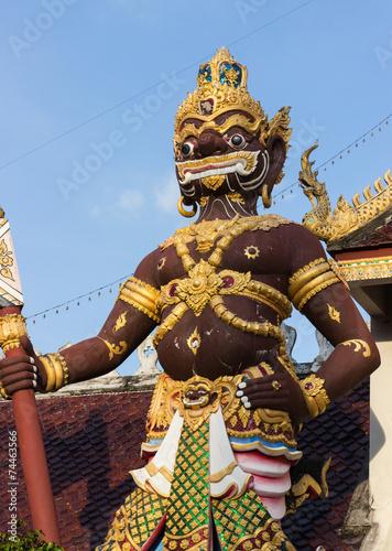 Deurstickers Bedehuis thailand giant statue