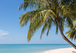 White sand beach in Koh Chang, a popular island on the gulf of T
