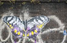 Butterfly: Street Art In London.