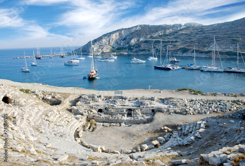 Knidos Ancient City Datca Turkey