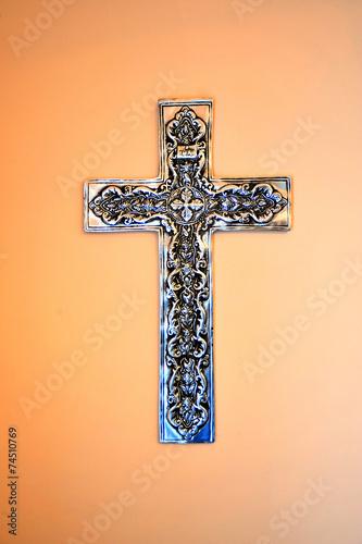 Fotografie, Obraz  Religious cross.