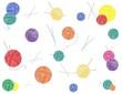 "Vector background ""Ball of thread"""