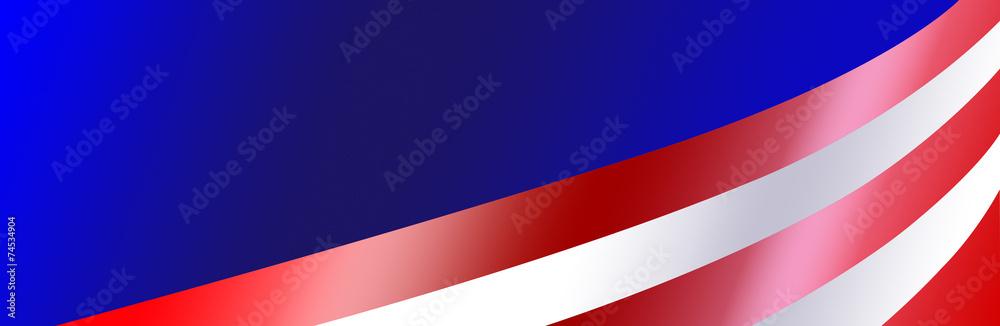 Fototapety, obrazy: Patriotic Bumper Sticker Background