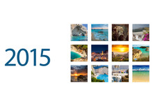 Desk Calendar 2015. Greece Ima...