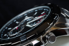 Luxury Man Watch Detail, Chron...