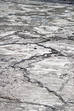 Background Shot Of A Dry Salin...
