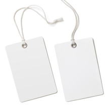 Blank Paper Label Or Cloth Tag...
