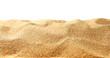 Leinwandbild Motiv Sand dunes isolated on white background