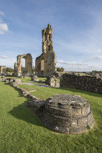 Byland Abbey, North Yorkshire,...