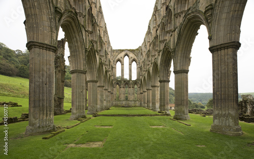 Canvas Prints Ruins Rievaulx Abbey Archway Ruins