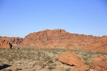 Red Rocks On Valley Of Fire
