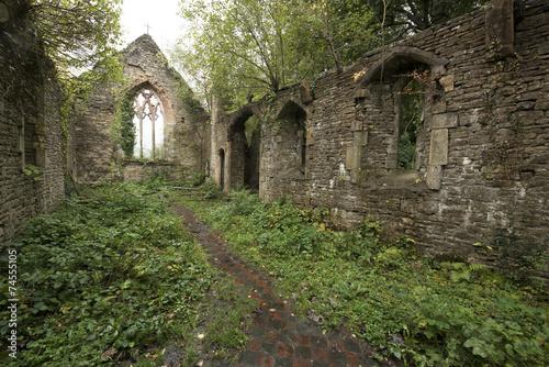 Fotografering  St. Mary's Church near Tintern Abbey