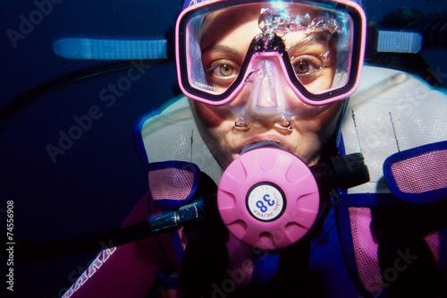 Fotografie, Obraz  subacqueo sport marini immersioni