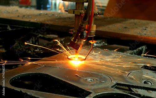Metall Stahl Eisen Prazision Schneiden Industrie Maschine Buy This