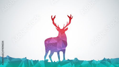 abstract-deer