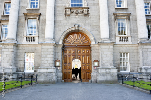 Photo  Trinity College entrance