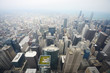 aerial view chicago