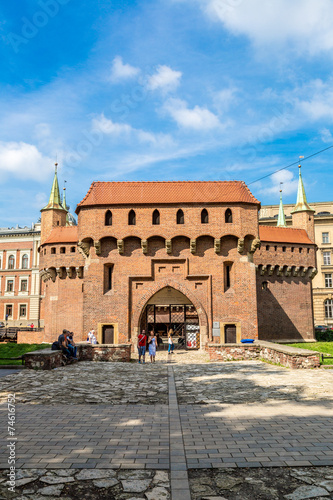 Barbican in Krakow, Poland #74616752