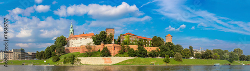 Wawel castle in Kracow #74616787