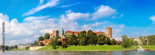 Wawel castle in Kracow #74616788