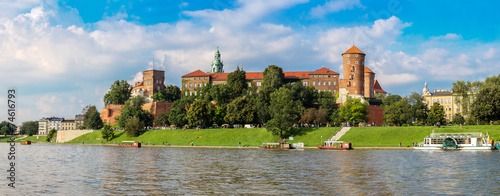 Wawel castle in Kracow #74616793