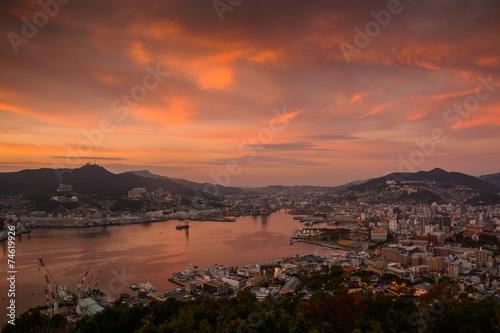 Poster Athens 長崎の夜景