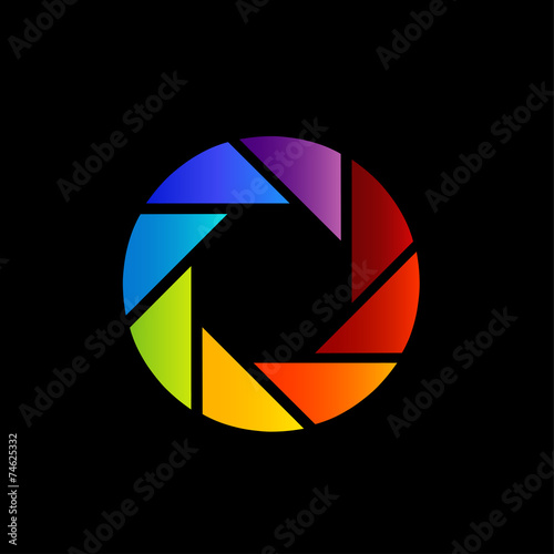 Aperture With Spectrum Of Visible Light Color Wheel Design Buy