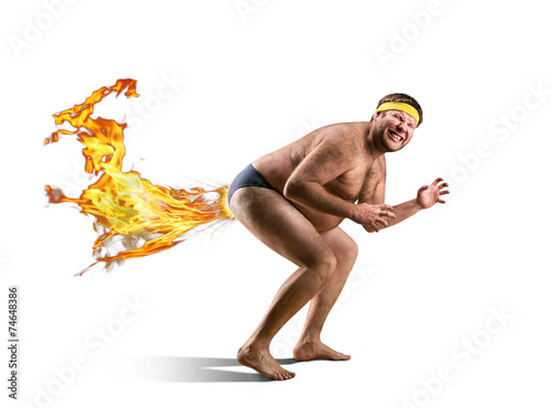 Αφίσα  Naked freak farts by fire