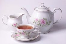 Traditional English Tea With W...
