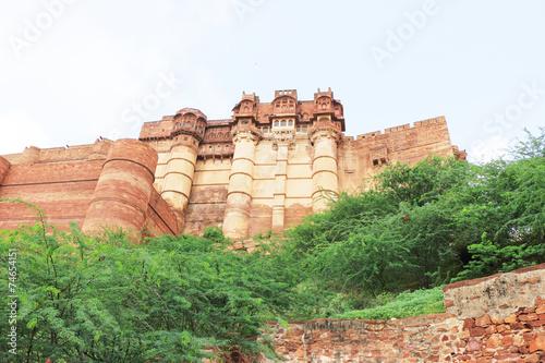 Papiers peints Fortification Magical Mehrangarh Fort, Jodhpur, Rajasthan,india
