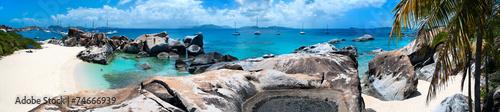 Recess Fitting Caribbean Beautiful tropical beach at Caribbean