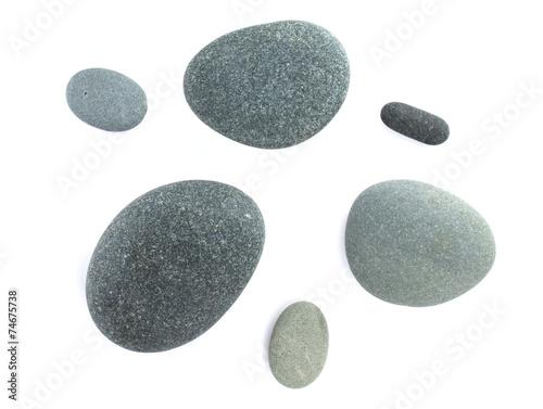Pinturas sobre lienzo  Piedras del mar