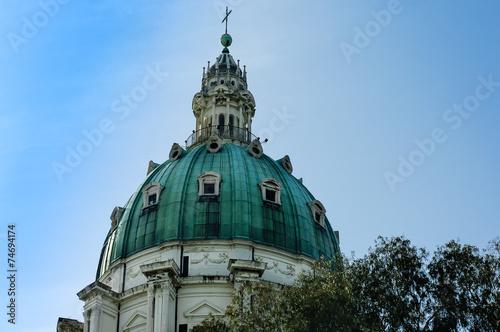 Fotografie, Obraz  Naples church