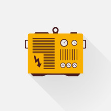 Yellow Generator With Long Sha...