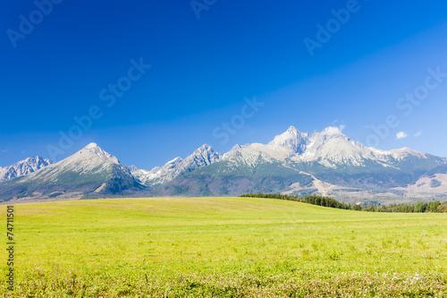 Photo  Vysoke Tatry (High Tatras), Slovakia