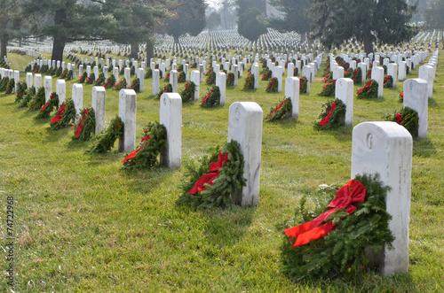 Keuken foto achterwand Begraafplaats Honoring Heros