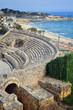 View of Tarragona ruins and coastline