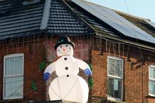 Inflatable Snowman Christmas Decoration