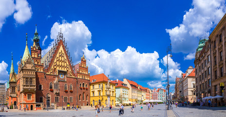 City Hall in Wroclaw