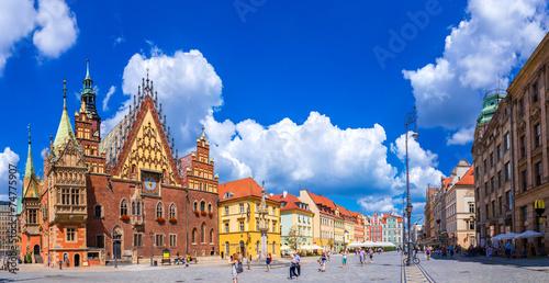 obraz PCV Ratusz we Wrocławiu