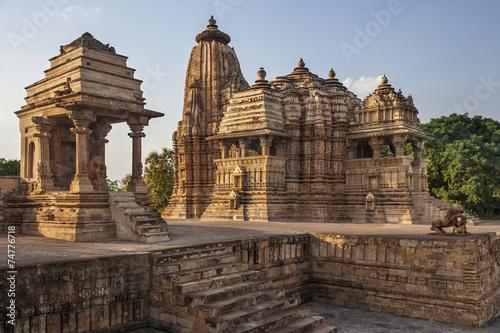 Foto op Plexiglas Bedehuis Khajuraho Temples - Madhya Pradesh - India