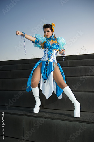 Photo  Woman with dress for Cosplayers